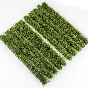 WWS 10mm Summer Grass Tufts Strips x 10 Model Railway Diorama Scenery Terrain 61RrtKxKYcL