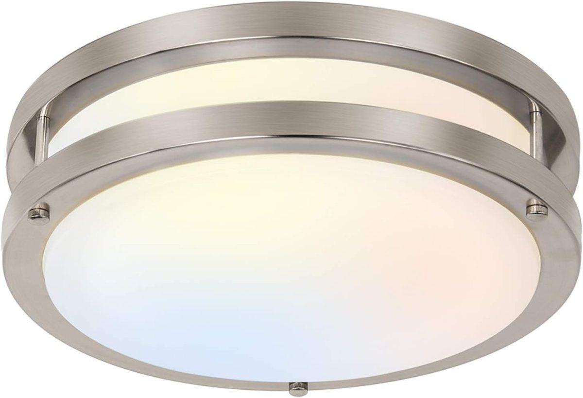 10 inch Flush Mount LED Ceiling Light Fixture