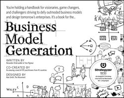 Book cover for Business Model Generation innovation books
