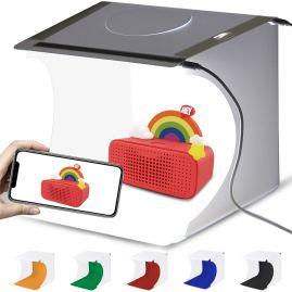 foldable mini photography lightbox studio