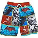 DC Comics Batman VS Superman Boys Swim Trunks Shorts 6/7