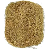 SunGrow 1.5 oz. Coconut Fiber - Comfortable Bedding for Small Birds and Animals - Nest Lining Material - Great for Nest Building and Hideouts