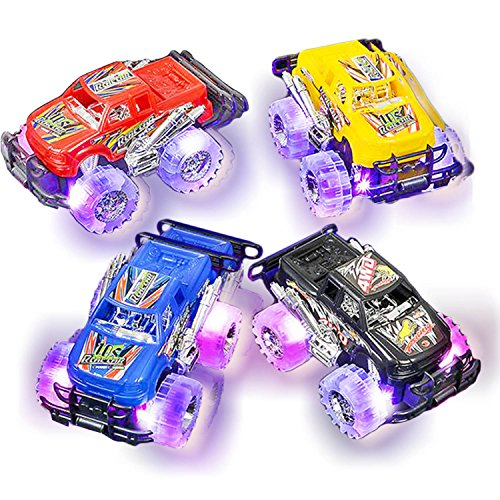 Trucks Boys Toys Age 3 : Light up monster truck set for boys and girls by