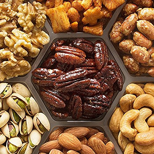 Jeffrey's Nuts Christmas, Holiday Nut Gift Basket for Men