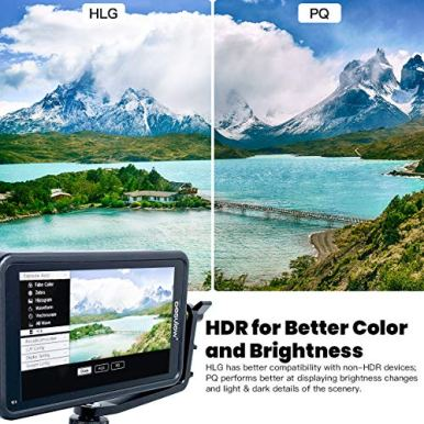 Desview-R5-55-inch-Touchscreen-On-Camera-Field-Monitor-1920x1080-IPS-with-HDR3D-LutsDual-use-Battery-System-on-Camera-Touchscreen-Field-Monitor