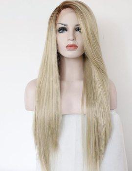 K'ryssma Fashion Ombre Blonde Glueless Lace Front Wigs