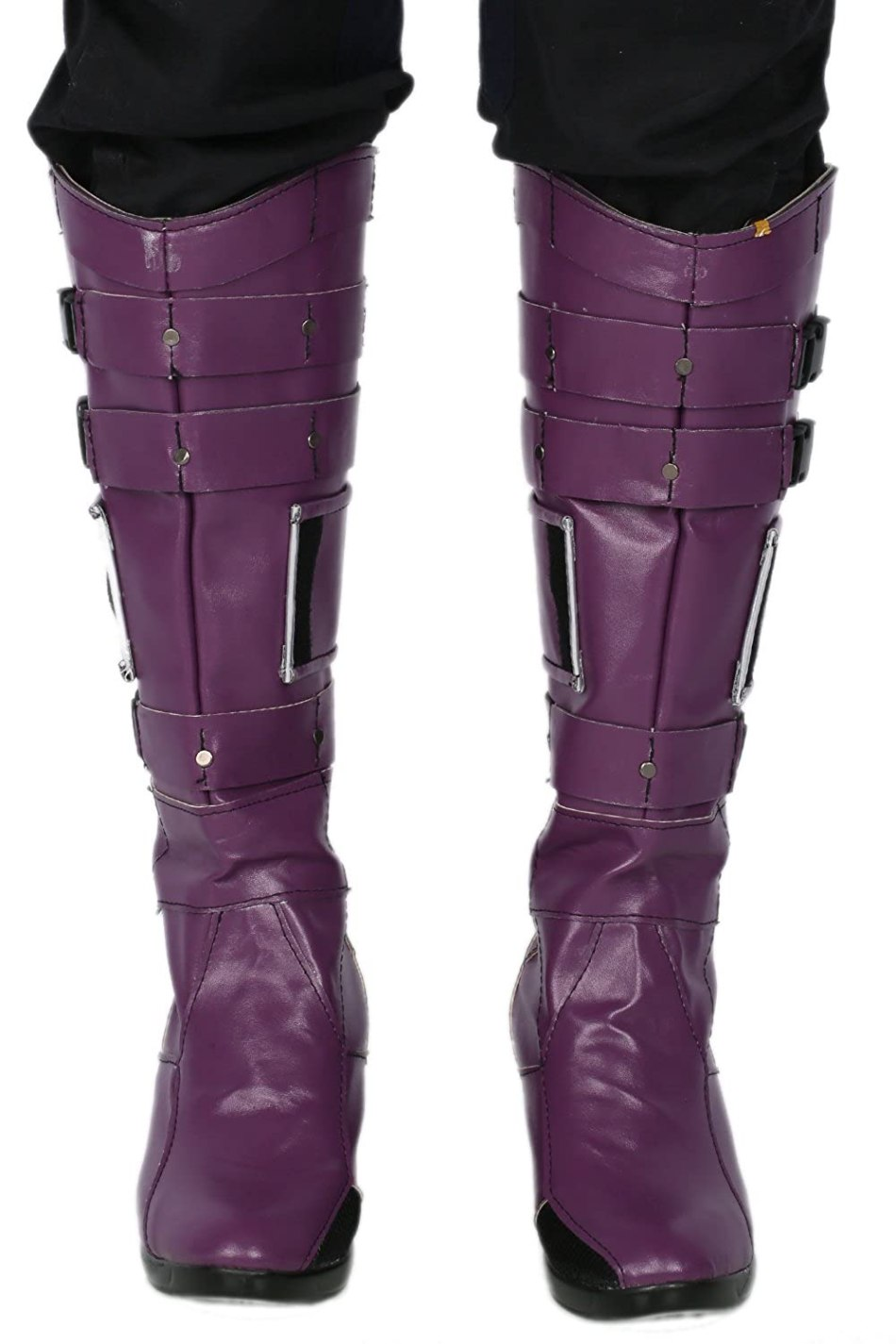 Cosplayrim Nebula Boots Deluxe Purple PU Knee-high Boots Cosplay Shoes