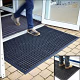 Anti-Fatigue Rubber Floor Mats for Kitchen Bar NEW Indoor Commercial Heavy Duty Floor Mat Black 36