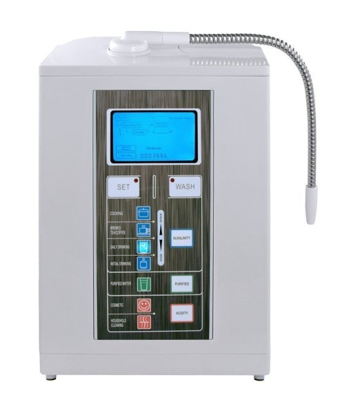 Air Water Life Aqua Ionizer Deluxe 7.0 | Best Home Alkaline Water Filtration System | Produces pH 4.5-11.0 Alkaline Water