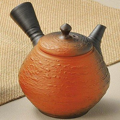 Japanese ceramic Tokoname ware. Kyusu teapot. 190cc