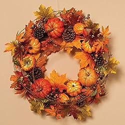 Maple Leaf Wreath - Thanksgiving Wreath