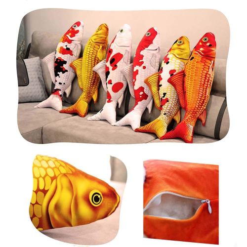 Cat Fish Pillow Cushion  Top Bestselling Fancy Throw Pillow