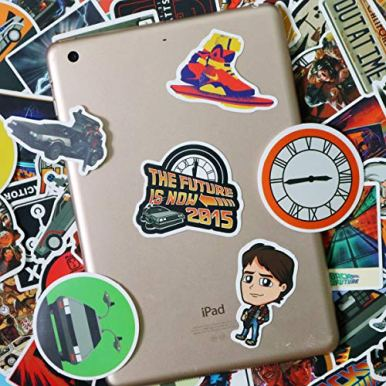 Back-to-The-Future-Sticker-Pack-of-50-Stickers-Film-Stickers-for-Laptop-Funny-Stickers-for-Laptops-Computers-Hydro-Flasks-Water-Bottles-Back-to-The-Future