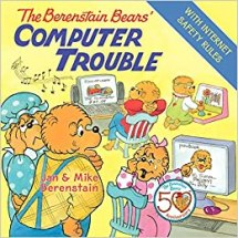 Image result for berenstain bears computer trouble