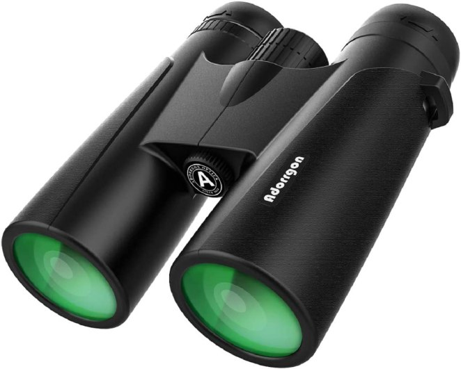 12x42 Roof Prism Binoculars for Adults – Professional HD Binoculars for Bird watching by Adorrgon