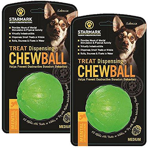 StarMark Treat Dispensing Chew Ball 1