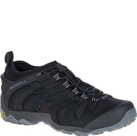 Merrell Chameleon 7 Stretch Hiking Shoes - Black - Mens - 10