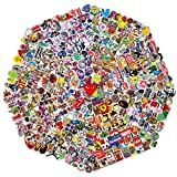 710 Pcs Random Sticker (60-710 pcs/Pack). Variety Vinyl Car Sticker Motorcycle Bicycle Luggage Decal Graffiti Patches Skateboard Stickers for Laptop Stickers for Adult