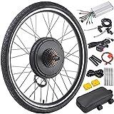 AW 26'x1.75' Rear Wheel 48V 1000W Electric Bicycle Motor Kit E-Bike Cycling Hub Conversion Dual Mode Controller