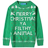 Product review for SSLR Big Boys' Funny Xmas Pullover Crewneck Ugly Christmas Sweater