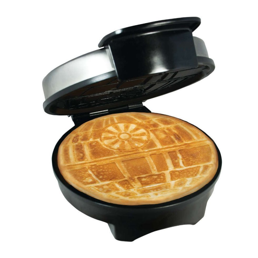 Death Star waffle maker for Star Wars Day gifts