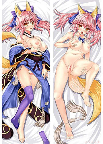 3D Anime Body Pillowcase 2 Way Fabric Life Size Cosplay 63 x 20 inch (160cm x 50cm) M+83003