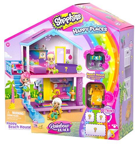 Shopkins Happy Places Rainbow Beach House Playset