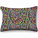 best bags Colorful Paisley Traditional Bright Beauty Fashion Home Decor Wedding Gift Engagement Present Housewarming Gift Cushion Cover 20X30 Inch