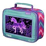 Igloo 81061 Unicorns Kids Lunch Box, 9.5 x 4.75 x 7.5