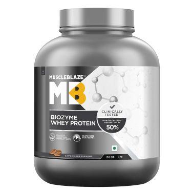 MuscleBlaze Biozyme Whey Protein