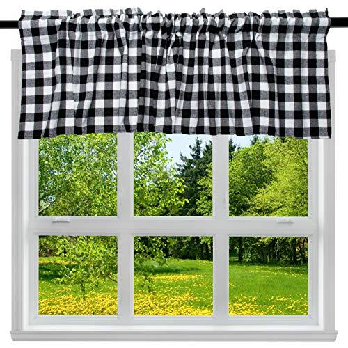 Buffalo Check Plaid Curtain Valance