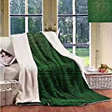 Sunnyhome Baby Blanket Digital Circuit Board Diagram Wire Blanket for Family and Friends W59x47L