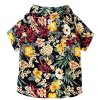 Runncha Shop Summer Camp,Pet Dog Shirts,Clothes,Costumes, S, M, L, Colorful, Apparel, Hawaiian styles, Colorful Flowers Hawaiian shirts 4
