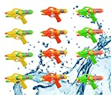 12 Pack Assorted Water Guns,Sizes 8.5'