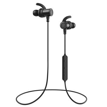 SoundPEATS Bluetooth Earphones, Wireless 4.1 Magnetic Earphones, in-Ear IPX6 Sweatproof Headphones with Mic (Superior Sound with Upgraded Drivers, APTX, 8 Hours Working Time, Secure Fit)