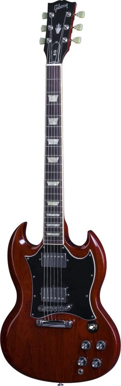Gibson SG Standard Electric Guitar, Heritage Cherry