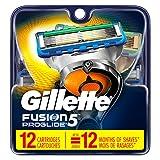 Gillette Fusion5 ProGlide Men\s Razor Blades Refills, 12 Count, Mens Fusion Razors / Blades