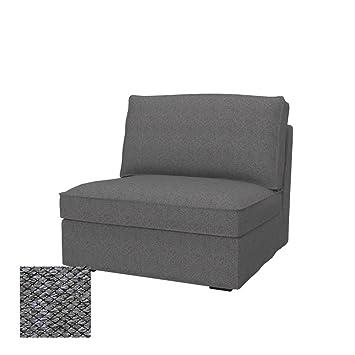 Soferia Housse Supplémentaire Ikea Kivik Chauffeuse 1 Place Tissu Nordic Grey