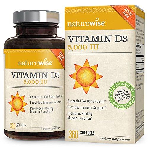 Vitamin D3 (5000 units)