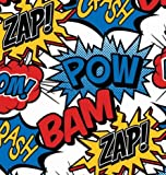 "Superhero Gift Wrapping Paper Roll 24"" X 15'"