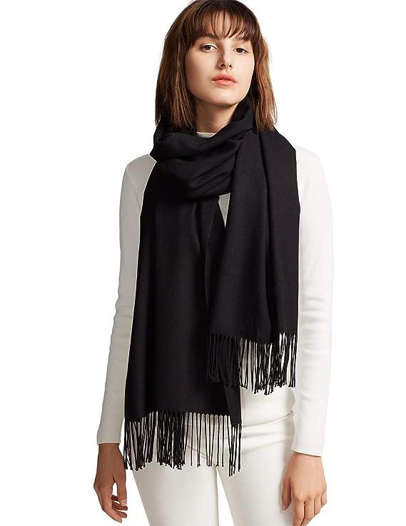 bufanda negra elegante para mujerhttps://amzn.to/2rlfq6b