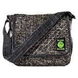 Mini Messenger - Adjustable Shoulder Bag w/Spacious Storage (Concrete)