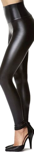 Stretchy Faux Leather Leggings