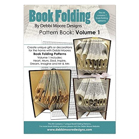 Debbi Moore Book Folding Pattern Book Volume 1 Manuale Per