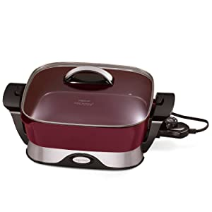 National Presto 07115 Electric Foldaway Skillet, 12-Inch