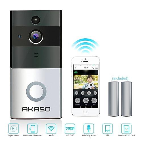 WiFi-Smart-Doorbell-Camera