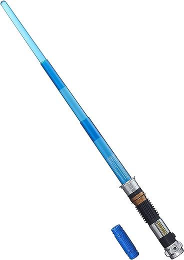 Star Wars – Sabre Laser électronique de Obi-Wan Kenobi dans Le Film La Revanche des Sith