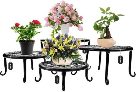 ᐅ Best 10 Outdoor Plant Stands For Multiple Plants