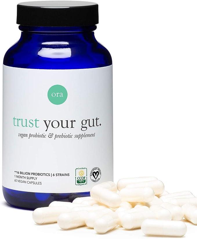 Ora Organic Probiotics with Prebiotics