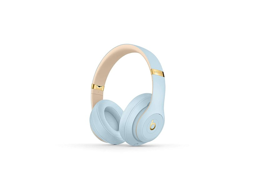 Beats noise cancelling headphones in crystal blue